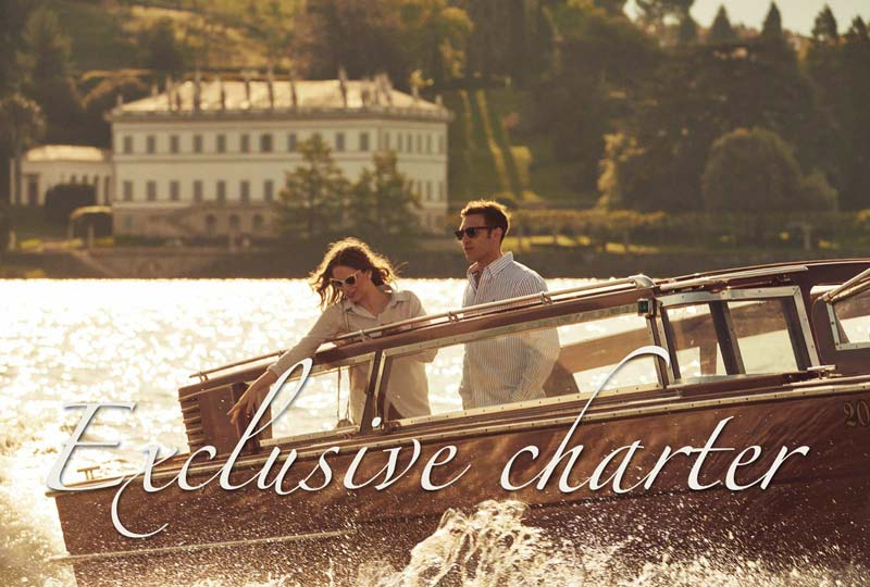Exclusive charter mobile lake Como Bellagio 1